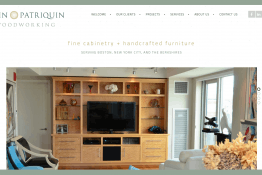 Patriquin Woodworking web site