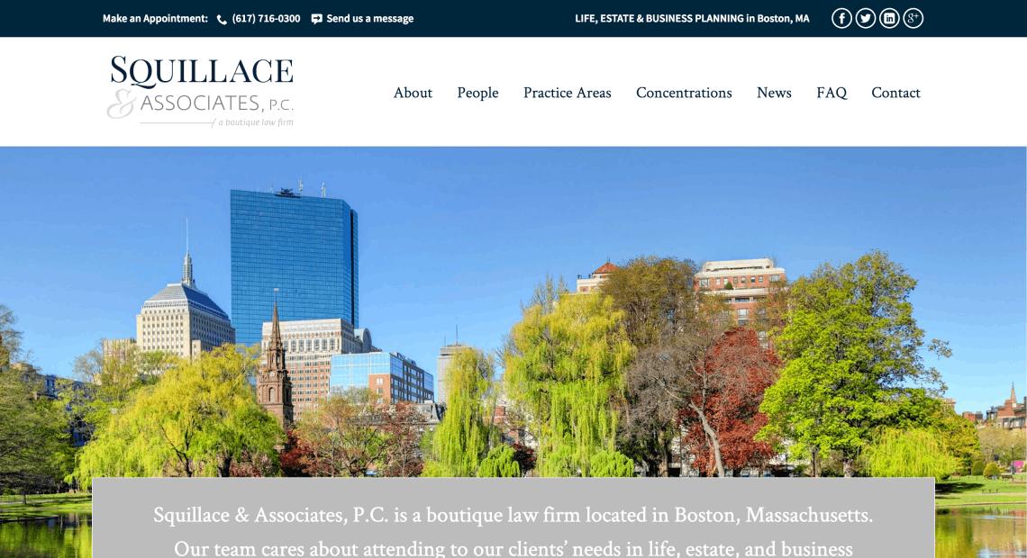Squillace & Associates, P.C. web site