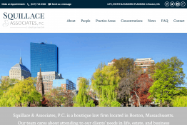 Squillace & Associates, P.C. web site