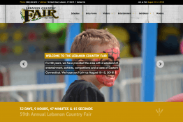 Lebanon Country Fair web site
