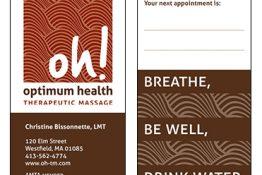 Optimum Health Therapeutic Massage identity