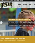 Lebanon Country Fair home page