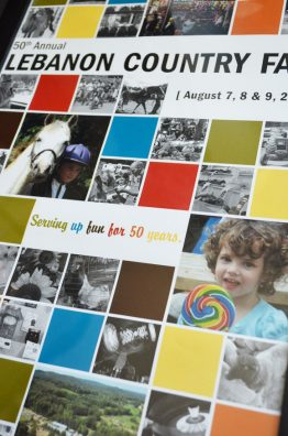 Lebanon Country Fair 50th Anniversary Poster