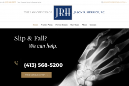 The Law Offices of Jason R. Herrick, P.C. website