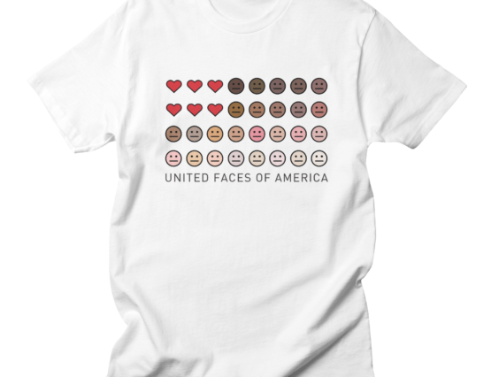 United Faces of America© t-shirt